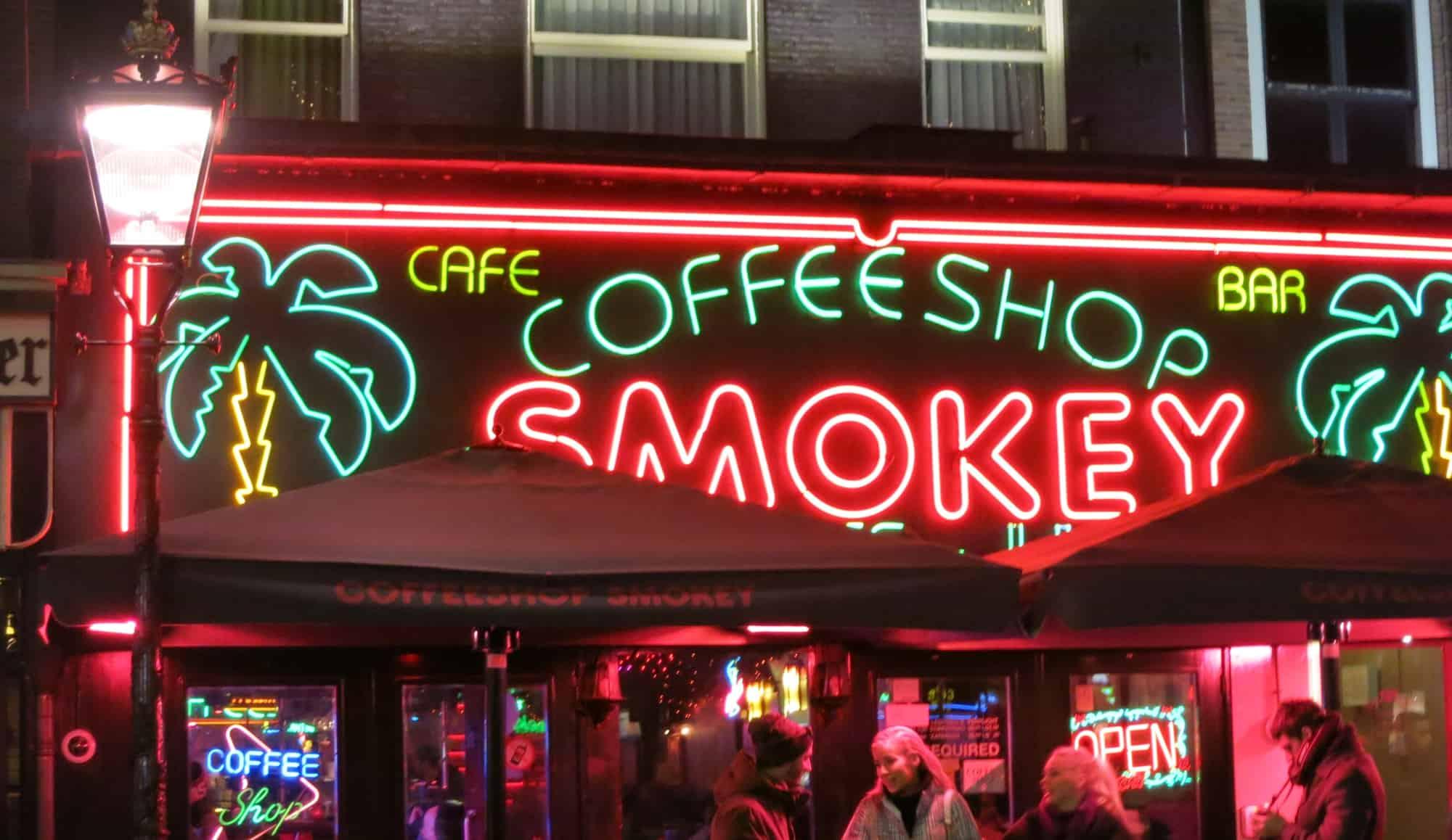 Evolución de los coffee shops en Ámsterdam