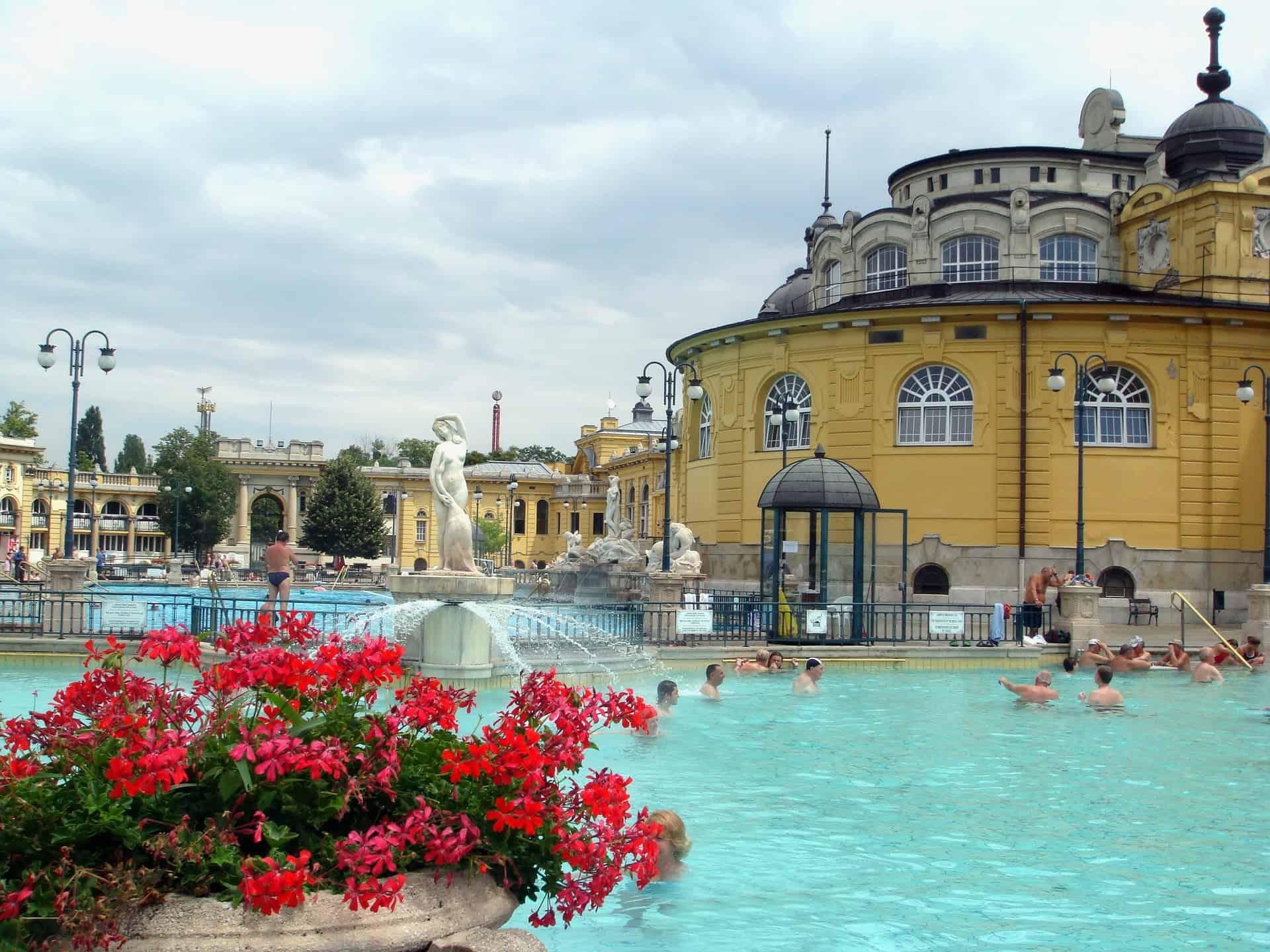 Los principales balnearios de Budapest