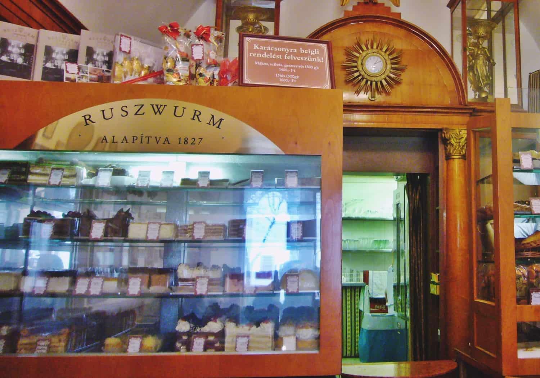 ¿Por qué es tan especial la Pastelería Ruszwurm?