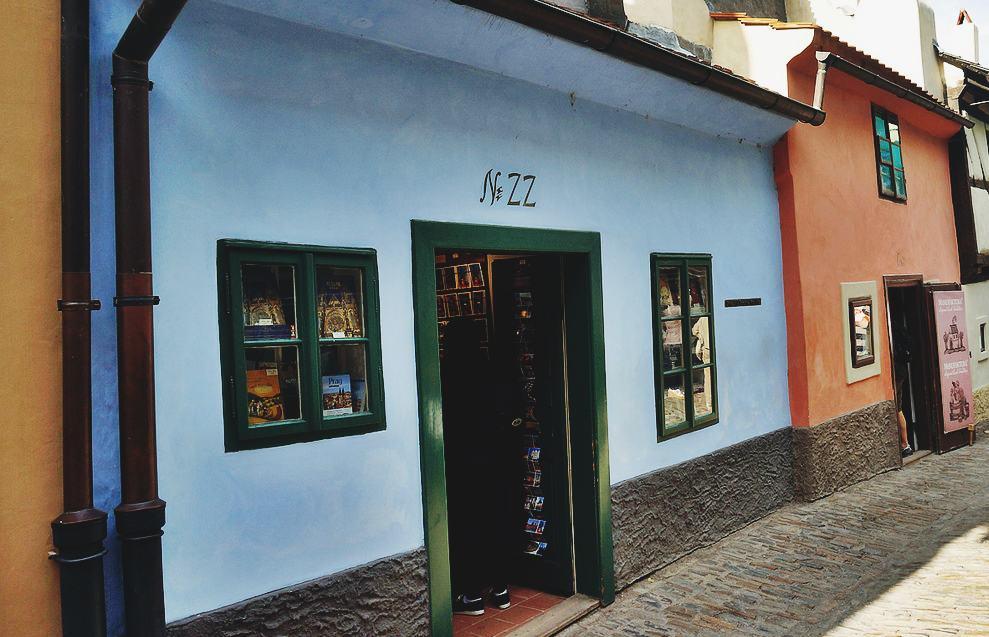 El Callejón del Oro. Un atractivo de Praga