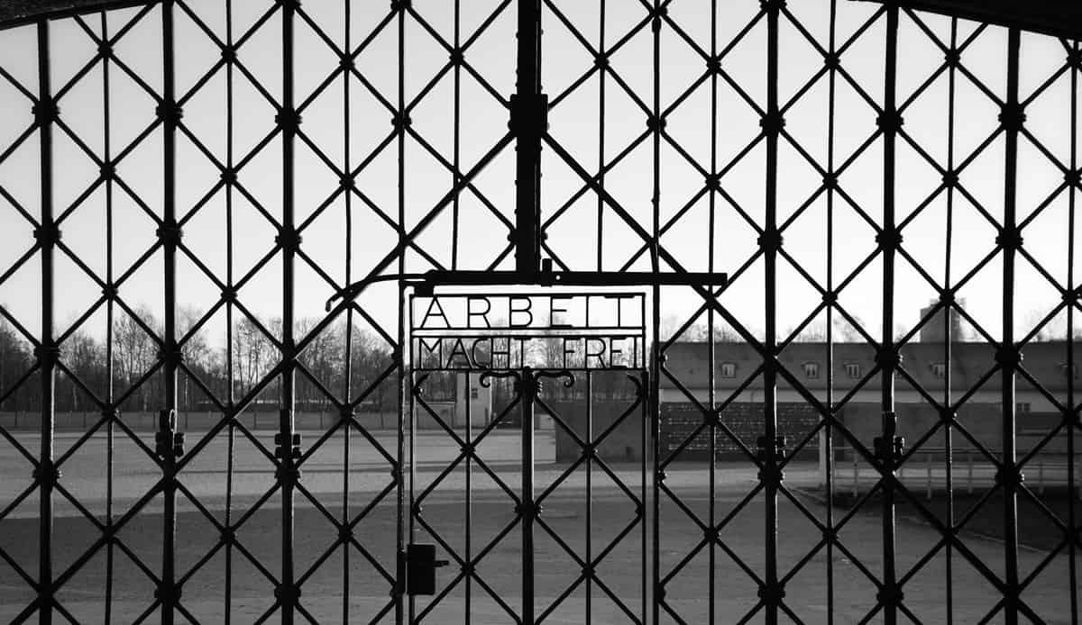 El campo de Dachau. Una triste historia del pasado
