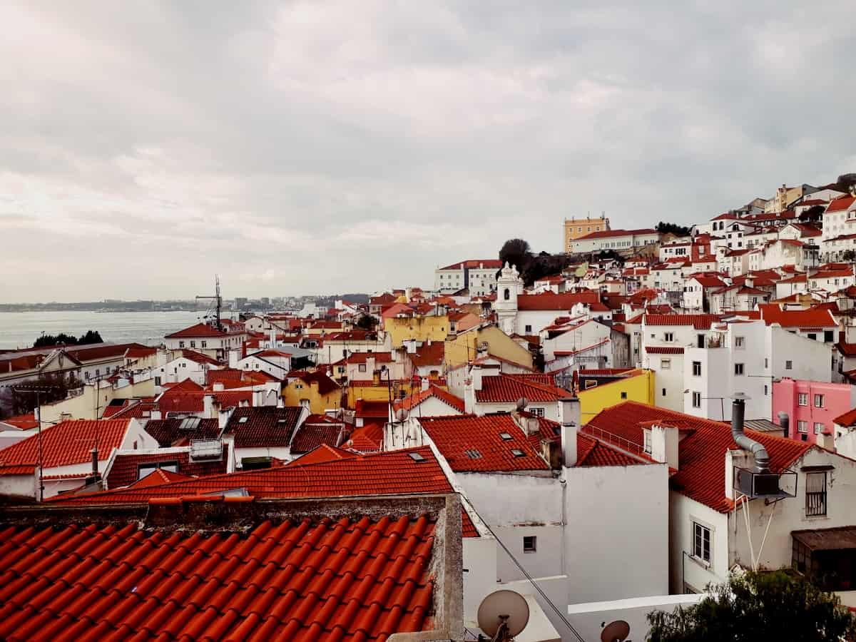 El mirador de San Esteban. Un lugar ideal de Lisboa