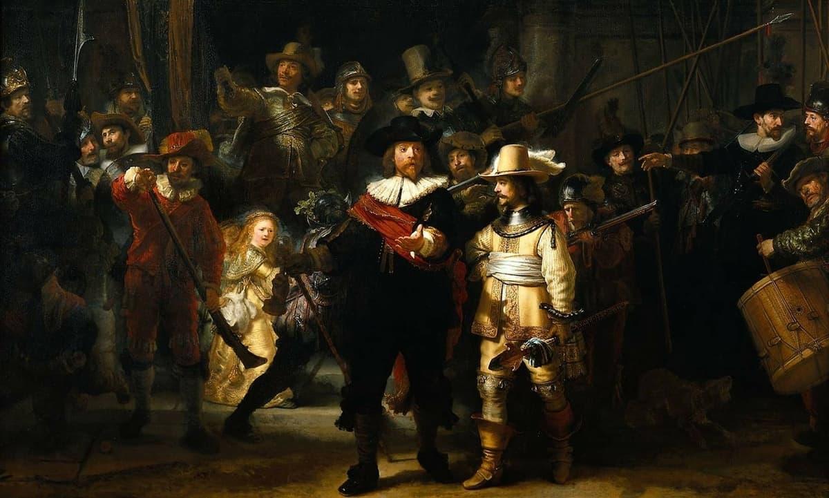 La vida de Rembrandt ligada a Ámsterdam