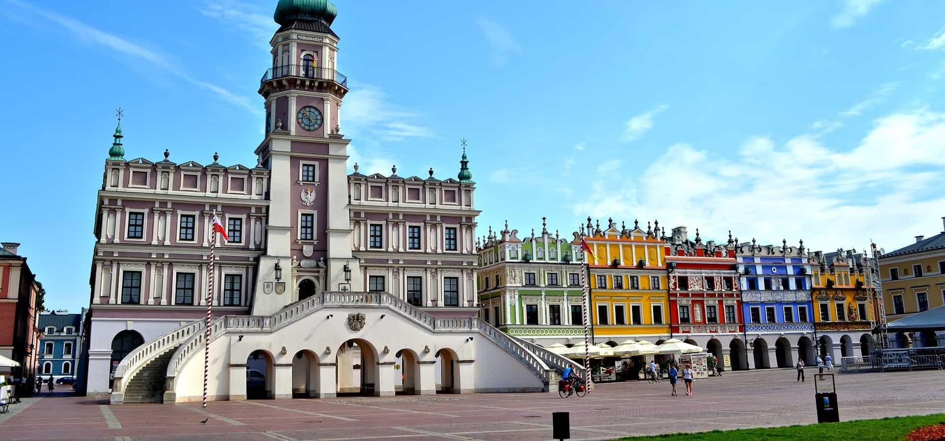 Lugares del centro histórico de Cracovia